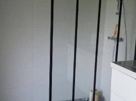 Belle douche à l'italienne faite sur mesure.